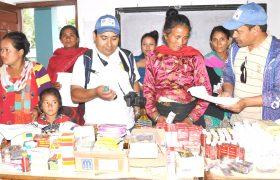 सिन्धुपाल्चोक जिल्लामा लायन्स क्लवको औषधि वितरण कार्यक्रम