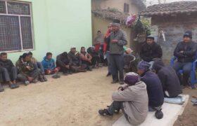 थारु गाउँ बस्तीमा खोज्नीबोज्नी शुरु, नयाँ बरघर (भलमन्सा) धमाधम छानिदै