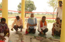 युनिक नेपालद्वारा निर्मित वर्दियाको नयाँ गाउँमा जगनठ्या मर्वाको उद्घाटन