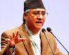 काँग्रेस सभापति शेरबहादुर देउवा पाँचौ पटक प्रधानमन्त्री पदमा नियुक्त